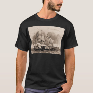 USS Constitution in action T-Shirt