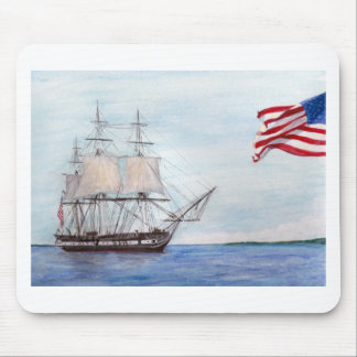 USS Constitution Mouse Pad