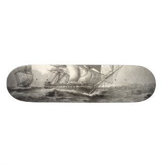 USS Constitution Skate Board