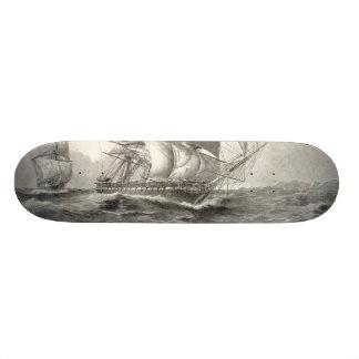 USS Constitution Skate Board