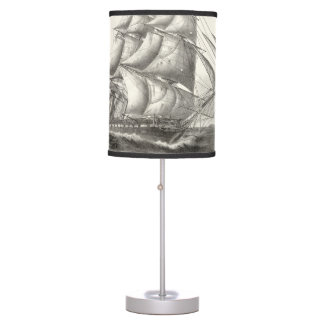 USS Constitution Table Lamp