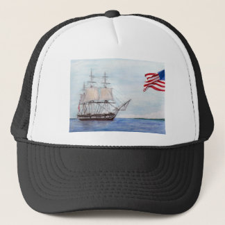 USS Constitution Trucker Hat