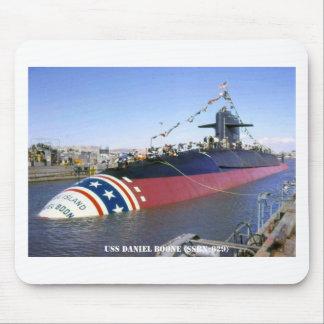USS DANIEL BOONE MOUSE PAD