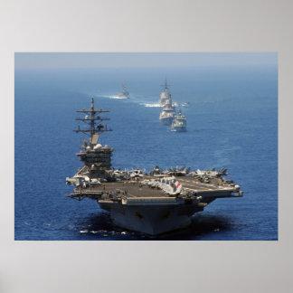 USS Dwight D. Eisenhower Poster