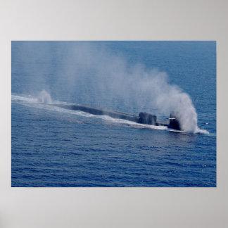 USS Georgia (SSGN 729) Poster