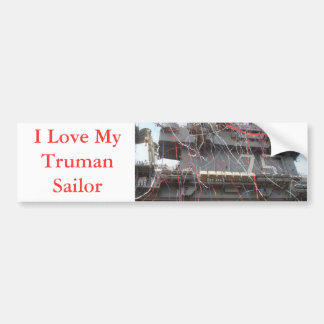 USS Harry S Truman CVN 75 Bumper Sticker