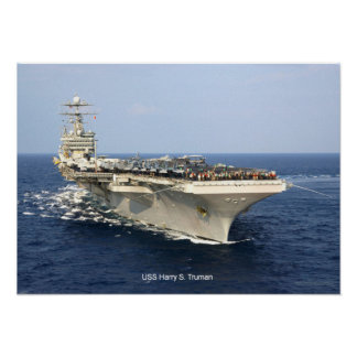 USS Harry S. Truman Poster