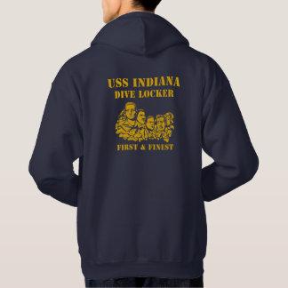 USS Indiana Dive Locker Hoodie