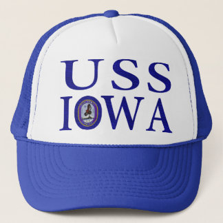 USS Iowa Hats