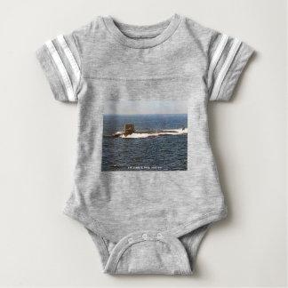 USS JAMES K. POLK BABY BODYSUIT