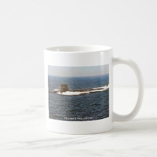 USS JAMES K. POLK COFFEE MUG