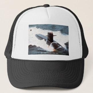 USS JAMES MONROE TRUCKER HAT