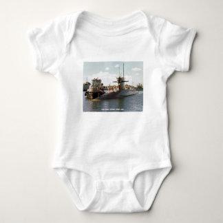 USS JOHN ADAMS BABY BODYSUIT