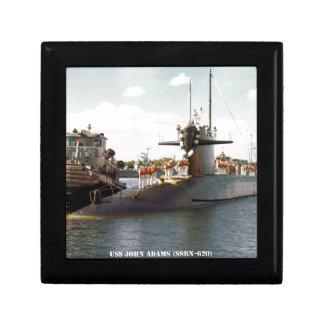 USS JOHN ADAMS GIFT BOX