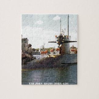 USS JOHN ADAMS JIGSAW PUZZLE