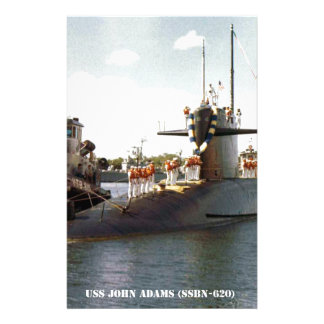 USS JOHN ADAMS STATIONERY