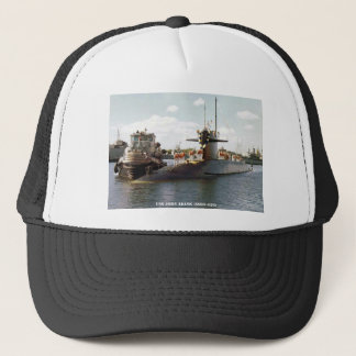 USS JOHN ADAMS TRUCKER HAT