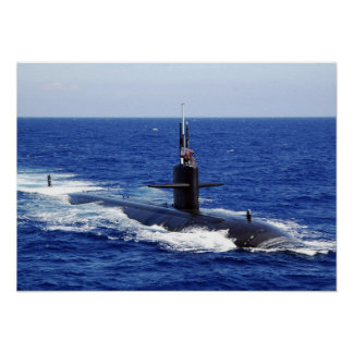 USS Key West (SSN-722) Poster