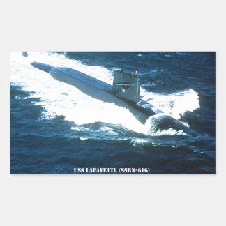 USS LAFAYETTE STICKER