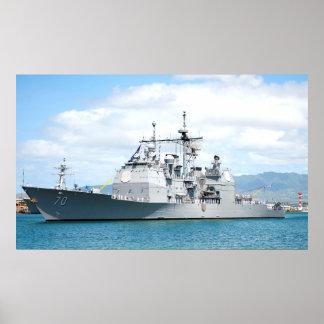 USS Lake Erie (CG 70) Poster