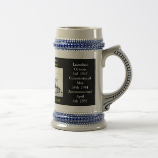 USS LE MONT OLYMPE (AGC-8) MUGS