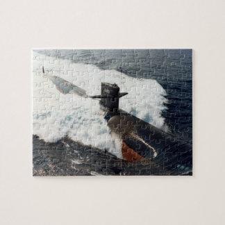 USS Los Angeles Submarine Puzzle