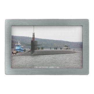 USS LOUISIANA BELT BUCKLES