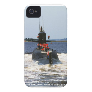 USS MARIANO G. VALLEJO Case-Mate iPhone 4 CASES