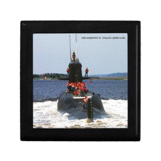 USS MARIANO G. VALLEJO GIFT BOX