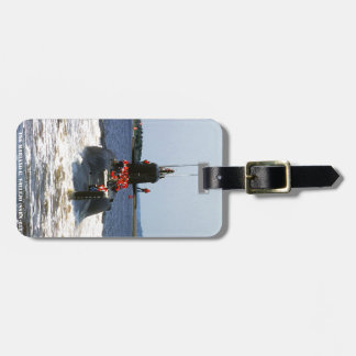 USS MARIANO G. VALLEJO LUGGAGE TAG