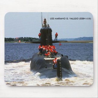 USS MARIANO G. VALLEJO MOUSE PAD