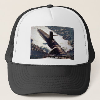 USS MICHIGAN TRUCKER HAT