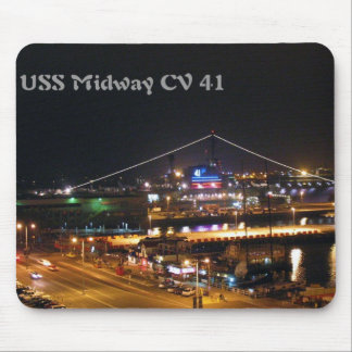 USS Midway CV41 Mouse Pad
