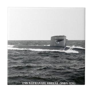 USS NATHANAEL GREENE TILE