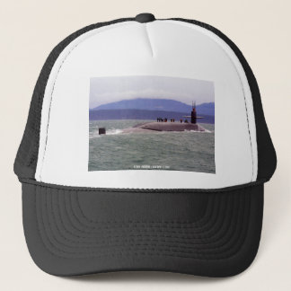 USS OHIO TRUCKER HAT
