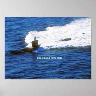 USS OMAHA POSTER