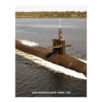 USS PENNSYLVANIA LETTERHEAD