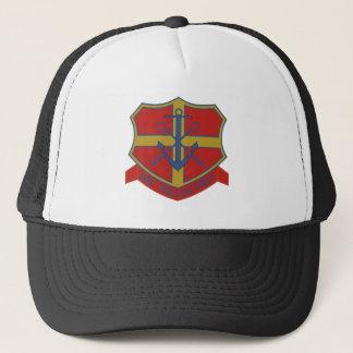 uss pollux aks-4 trucker hat