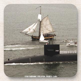 USS RHODE ISLAND COASTER