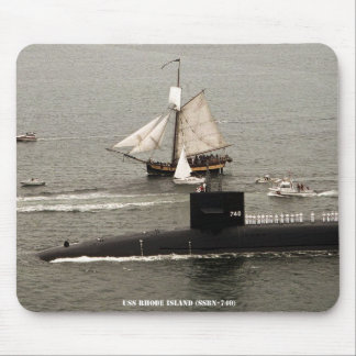 USS RHODE ISLAND MOUSE PAD