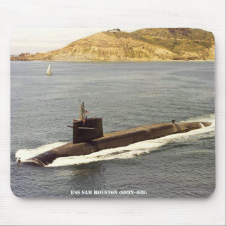USS SAM HOUSTON MOUSE PAD