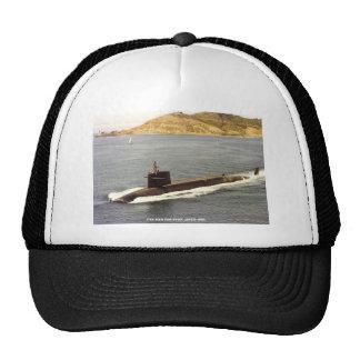 USS SAM HOUSTON TRUCKER HAT