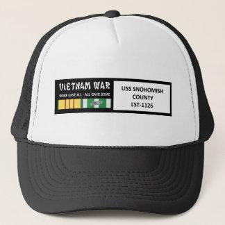 USS SNOHOMISH COUNTY VIETNAM WAR VETERAN TRUCKER HAT