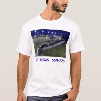 USS TEXAS   SSN-775 Submarine T-Shirt