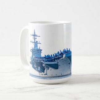 USS Theodore Roosevelt Coffee Mug