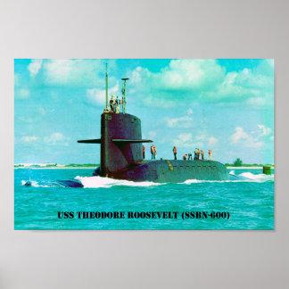 USS THEODORE ROOSEVELT POSTER