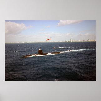 USS Toledo (SSN 769) Poster