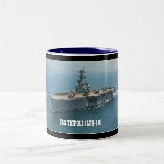 USS TRIPOLI LPH-10 MUGS À CAFÉ