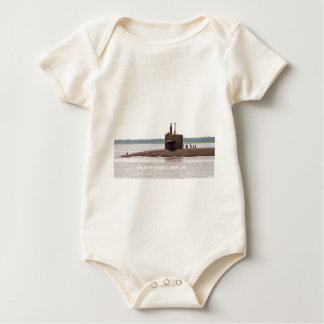 USS WEST VIRGINIA BABY BODYSUIT