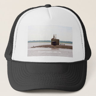 USS WEST VIRGINIA TRUCKER HAT